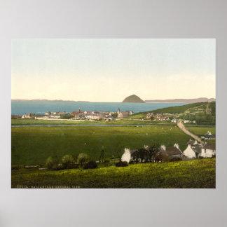 Ballantrae, Ayr, Escocia Póster