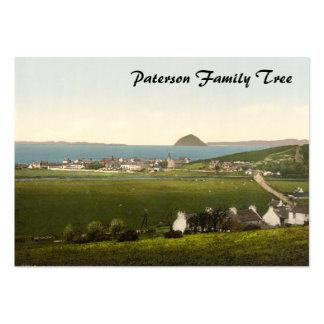 Ballantrae, Ayr, Scotland Large Business Card