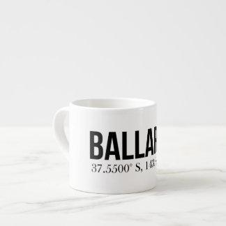 Ballarat Coordinates Souvenir Espresso Mug