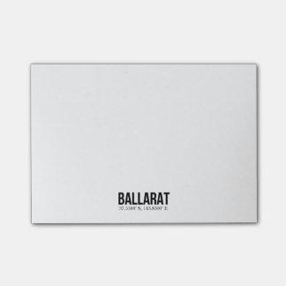 Ballarat Tourism Coodinates Sticky Notes Pad