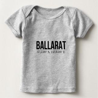 Ballarat Tourism Coordinates souvenir Baby T-Shirt