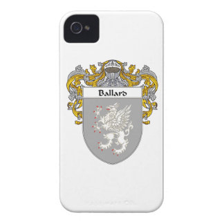 Ballard Coat of Arms/Family Crest iPhone 4 Case-Mate Cases