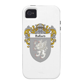 Ballard Coat of Arms/Family Crest Vibe iPhone 4 Covers