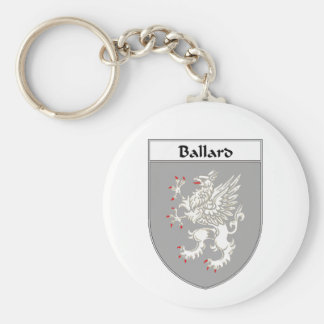 Ballard Coat of Arms/Family Crest Keychain