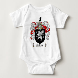 BALLARD FAMILY CREST -  BALLARD COAT OF ARMS BABY BODYSUIT