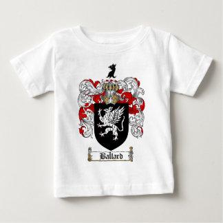 BALLARD FAMILY CREST -  BALLARD COAT OF ARMS BABY T-Shirt