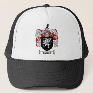 BALLARD FAMILY CREST -  BALLARD COAT OF ARMS TRUCKER HAT