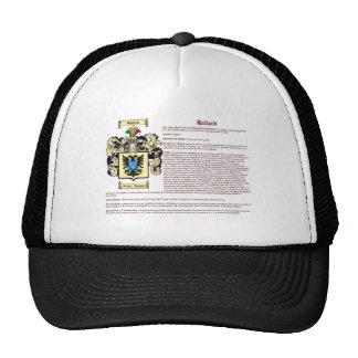 Ballard (meaning) trucker hat