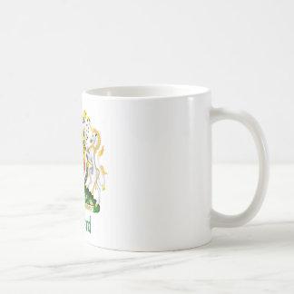Ballard Shield of Great Britain Coffee Mugs