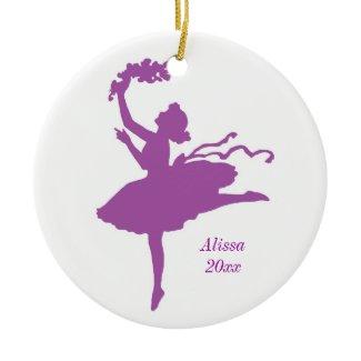Ballarina Ornament ornament