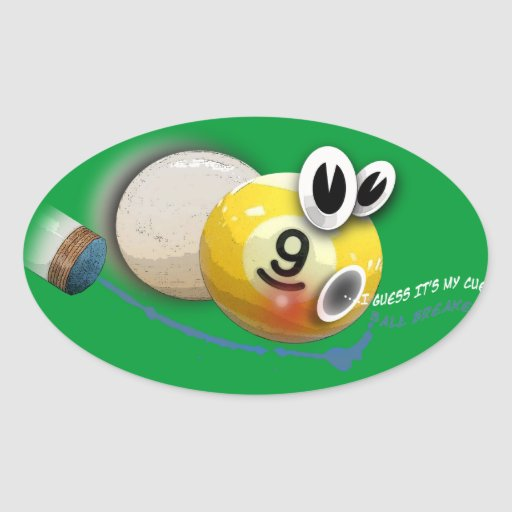 ballbreaker oval sticker