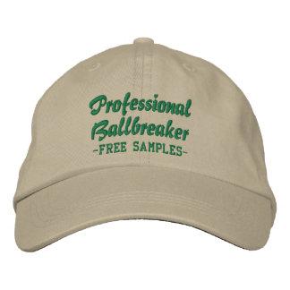 Ballbreaker profesional gorra de beisbol bordada