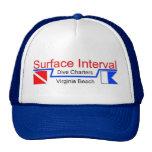 Ballcap #2, azul, con el logotipo gorra