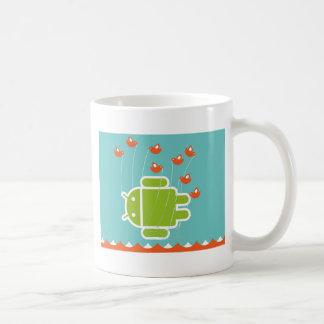 Ballena androide del fall taza