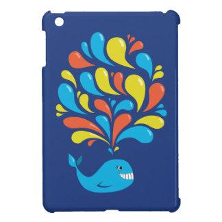 Ballena azul colorida linda