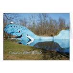 Ballena azul de Catoosa Felicitacion