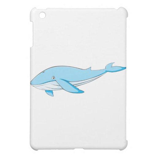 Ballena azul feliz