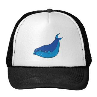 ballena azul gorro