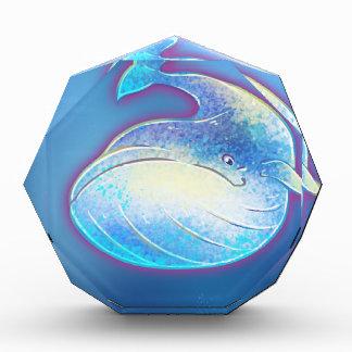 Ballena azul linda
