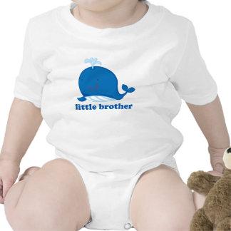 Ballena azul pequeño Brother Traje De Bebé