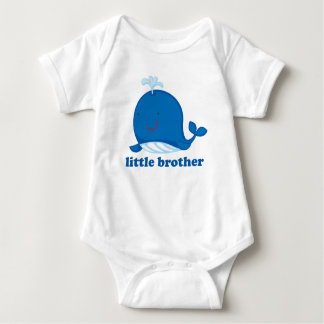 Ballena azul pequeño Brother Playera
