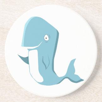 ballena azul posavasos manualidades