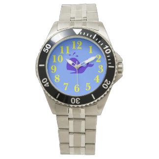 Ballena azul relojes de pulsera