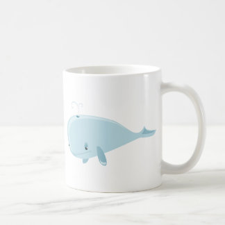 Ballena azul tazas de café