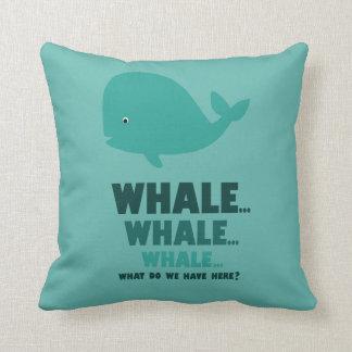 Ballena, ballena, ballena v1 almohadas