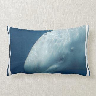Ballena blanca almohada
