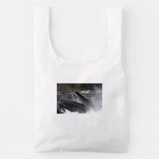 ballena bolsa reutilizable