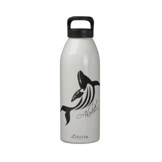 Ballena de Hawaii de la hawaiana Botella De Agua