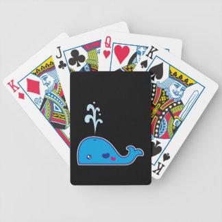 Ballena de Kawaii Baraja Cartas De Poker