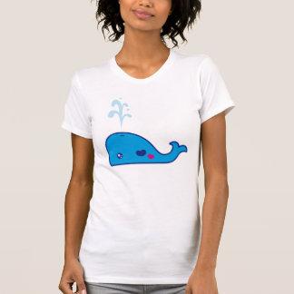 Ballena de Kawaii Camisas
