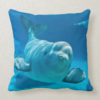 Ballena de la beluga almohada