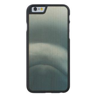 Ballena de la beluga funda de iPhone 6 carved® de arce