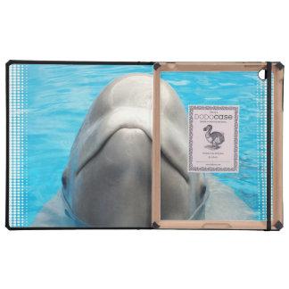 Ballena de la beluga iPad cobertura