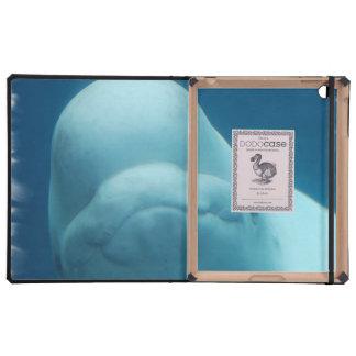 Ballena de la beluga iPad coberturas