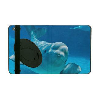 Ballena de la beluga iPad carcasa
