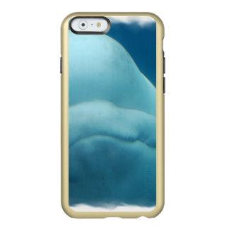Ballena de la beluga funda para iPhone 6 plus incipio feather shine