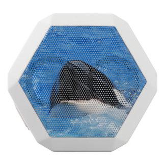 Ballena de la orca altavoces bluetooth blancos boombot REX