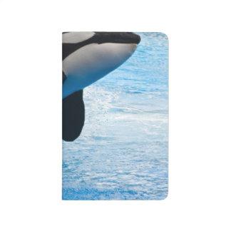 Ballena de la orca cuadernos