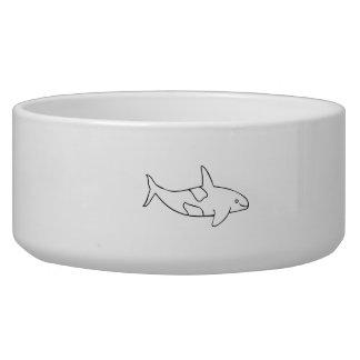 Ballena de la orca boles para gatos