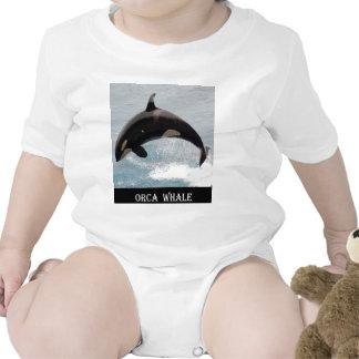 Ballena de la orca de Washington Trajes De Bebé
