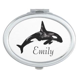 Ballena de la orca espejo maquillaje