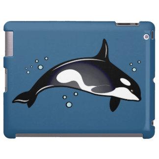 Ballena de la orca funda para iPad