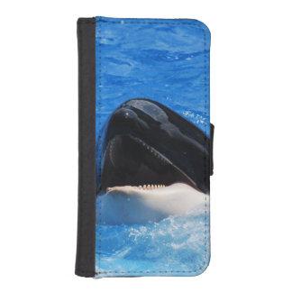 Ballena de la orca cartera para iPhone 5