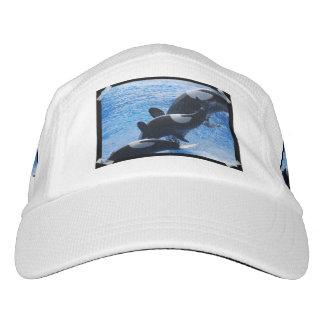 Ballena de la orca gorras de alto rendimiento