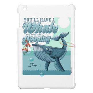 Ballena de un mini caso del buen iPad del tiempo iPad Mini Carcasa