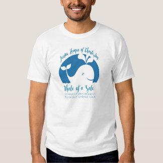 Ballena de una camiseta de la venta playeras